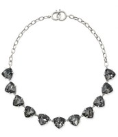 Somervell  necklace - grey also clear crystal available
