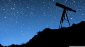 Students will be able to use a real telescope, and look at our universe.