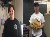 Meet coach Ski and Coach McCarter, our softball Coaches  (and 7th grade math and history teachers)