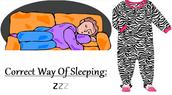 How We Should Sleep: