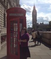 Ms. Sherlin in London
