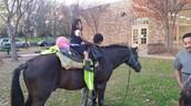 Horseback Riding for Harllee Students during Carnival