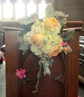 Flowers for Pews