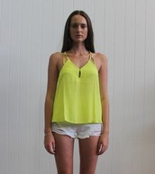 HAYLEY CUT OUT TOP