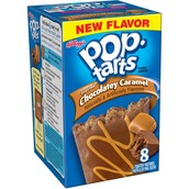Frosted Chocolatey Caramel Poptarts