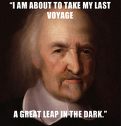 One of Thomas Hobbes famous quotes