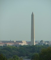 Washington Monument from a distance