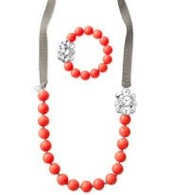 Coral Necklace and Bracelet - SOLD