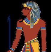 Dit is een farao.