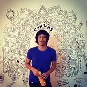 Writeable whiteboard walls