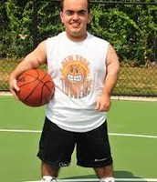 Dwarf Basketball Player