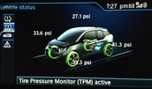 TPMS -- Tire Pressure Monitoring System (Optional)