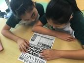 Newspaper reports!