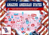 "Kindergarten - 3rd Grade ""AMAZING AMERICAN STATE"" Project"