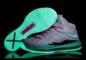 Glowing Nikes