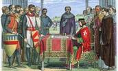19th June 1214: King John signs the Magna Carta