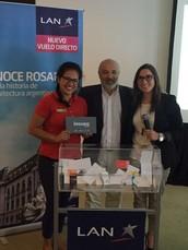 Más vuelos: Rosario presentó su oferta turística en Lima