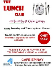 Cafe Epinay Lunch Clubs