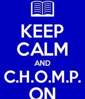 Comprehension Helps Our Minds Progress! C.H.O.M.P.