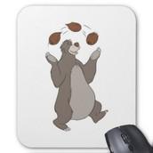 bear jugling