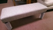 This bench/ottoman found a great home with Linda Quaste!
