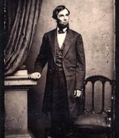 לינקולן בביתו