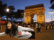 Us in Paris Italy