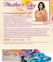Mother's Day Scarf and Ylang Ylang
