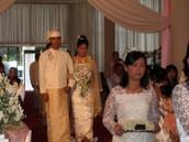 An Myanmar wedding