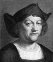 This is Christopher Columbus's wife.