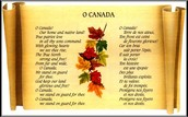 National anthem in english and french