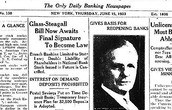 Glass-Steagall Banking Act 1933