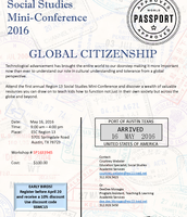 Social Studies Mini-Conference 2016: Global Citizenship