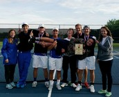 Congrats to conference champion, boys tennis!