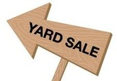 The yard sale of the year is near!