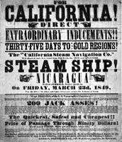A Gold Rush Flyer/News Article