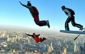 Go base jumping