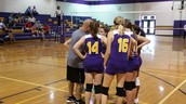ECMS' Volleyball Team in Action