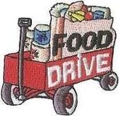 Morgan Moore CCA Food Drive