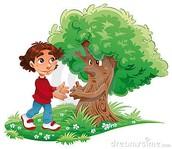 Poem: A Tree My Size