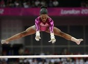 Gabby douglas is a great gymnast