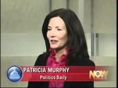 Patricia Murphy on duty.