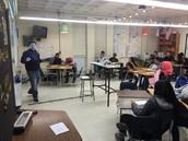 Mr. Vasquez working his magic in introduction inequalities