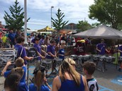 Gators of the Week:  Percussion Students Volunteer at Lexington Kids Day