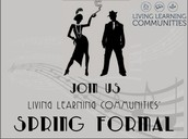Save the Date - LLC Spring Formal!
