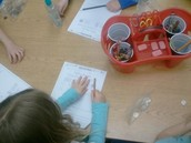 Learning about probability and how to flip a coin.