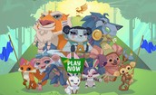 Animal jam (my favorite online game)