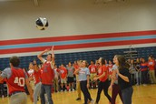 A Little Friendly Competition at the Pep Assembly!