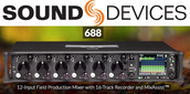 Sound Devices 688 12-input mixer
