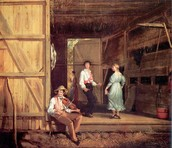 Dancing on the Barn Floor (1831)